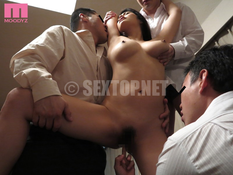 Husbands Friends Seduce Wife