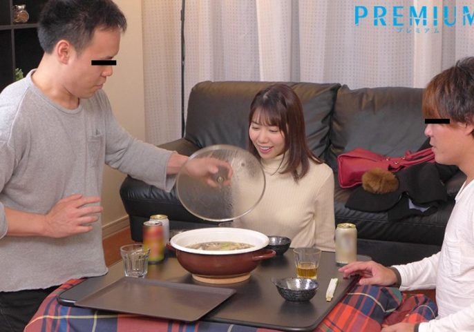 PRED-136 Hot Pot Party Cheating: Creampie Footage Of My Girlfriend